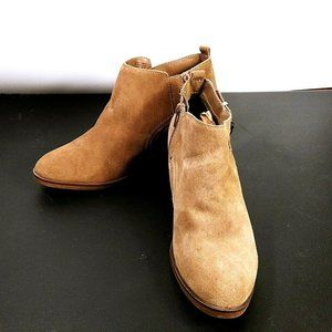 Sonoma Womens Brown Ankle Boots Size 9.5 M Booties